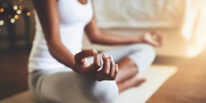méditation à la maison